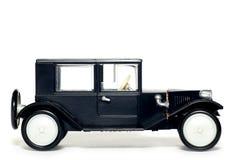 Oude stuk speelgoed auto Tatra 11 Limusina Royalty-vrije Stock Foto's