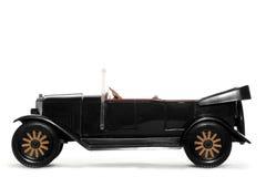 Oude stuk speelgoed auto Volvo Jakob 1927 stock afbeelding