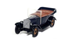 Oude stuk speelgoed auto Volvo Jakob 1927 Royalty-vrije Stock Foto's