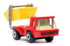 Oude stuk speelgoed Skip van de autoAtlas Vrachtwagen Stock Afbeelding