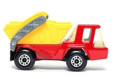Oude stuk speelgoed Skip van de autoAtlas Vrachtwagen #3 Royalty-vrije Stock Afbeeldingen