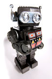 Oude stuk speelgoed tinrobot #2 Royalty-vrije Stock Afbeelding
