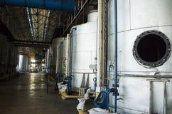 Oude suikerfabriek stock fotografie