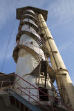 Oude suikerfabriek Stock Afbeelding