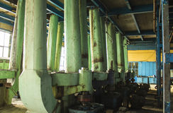 Oude suikerfabriek Stock Afbeeldingen