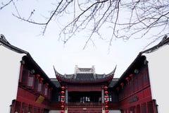 Oude suzhou van watersteden -stad-shantang Royalty-vrije Stock Foto's