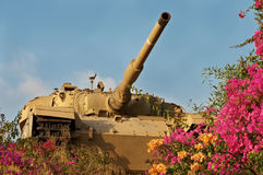 Oude tank royalty-vrije stock foto