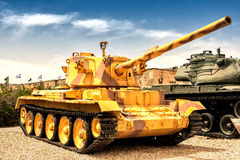 Oude tank Stock Afbeelding