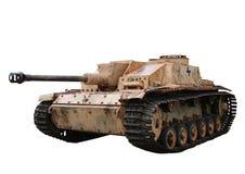 Oude tank Stock Foto's
