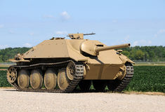 Oude tank Royalty-vrije Stock Foto's