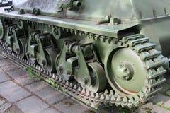 Oude tank van 2 wereldoorlog Royalty-vrije Stock Afbeeldingen