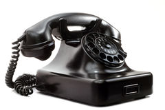 Oude telefoon Stock Foto's