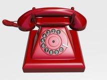 Oude telefoon Royalty-vrije Stock Afbeelding