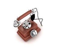 Oude telefoon (grootte XXL) Stock Fotografie