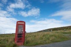 Oude telefooncel Royalty-vrije Stock Foto