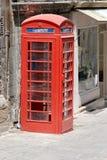 Oude Telefooncel Stock Afbeeldingen