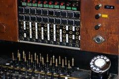 Oude telefooncentrale Stock Foto's