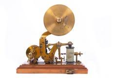 Oude telegraaf royalty-vrije stock afbeeldingen