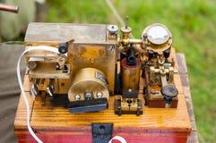 Oude telegraaf royalty-vrije stock afbeelding
