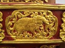 Oude tempel Royalty-vrije Stock Afbeeldingen