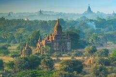 Oude tempel in Bagan Royalty-vrije Stock Afbeeldingen