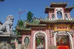 Oude Tempel in Hoi An stock afbeeldingen