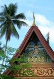 Oude tempel in luang prabang, Laos Royalty-vrije Stock Foto's