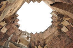 Oude Tempel - Sukhothai Stock Afbeeldingen