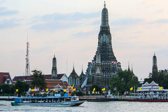 Oude tempel in Thailand Stock Afbeelding