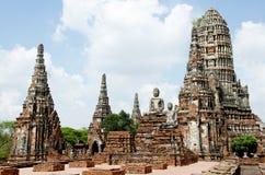 Oude tempel in Thailand. Royalty-vrije Stock Afbeeldingen