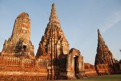 Oude tempel in Thailand Stock Afbeeldingen