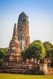 Oude Tempel van Ayuthaya, Thailand Royalty-vrije Stock Afbeeldingen