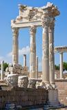 Oude Tempel van Trajan Royalty-vrije Stock Foto
