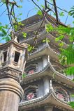 Oude tempel, Vietnam Royalty-vrije Stock Fotografie