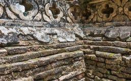 Oude tempelmuur stock afbeeldingen