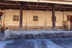 Oude tempelmuur Royalty-vrije Stock Afbeeldingen
