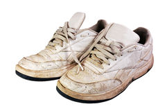 Oude Tennisschoenen Royalty-vrije Stock Afbeelding