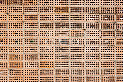 Oude Textuurbakstenen muur, achtergrond Stock Foto's