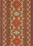 Oude Thaise geweven doek Stock Foto's