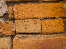 Oude Thaise oude bakstenen muren Stock Foto's