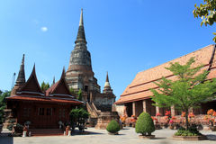 Oude Thaise tempel Royalty-vrije Stock Afbeelding