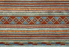 Oude Thaise textiel Royalty-vrije Stock Afbeelding
