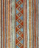 Oude Thaise textiel Royalty-vrije Stock Afbeeldingen