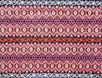 Oude Thaise textiel Stock Afbeeldingen