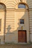 Oude theaterdeur, Oxford, Engeland Stock Afbeelding