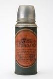 Oude thermosflessen Stock Afbeelding