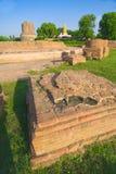 Oude Tibetan tempelruïnes royalty-vrije stock foto