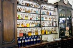 Oude tijd medische remedies Royalty-vrije Stock Foto's