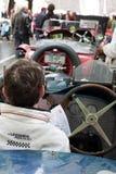 Oude tijdauto's in Mille Miglia 2013 Royalty-vrije Stock Foto