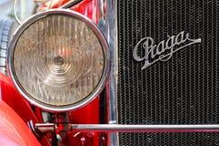 Oude Tijdopnemer - Auto Praga royalty-vrije stock afbeeldingen